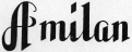 A milan Logo