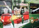 In Fahrt: Das Carlsberg Euro Tram in Zürich.
