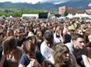 Zuschauer am Sierre Blues Festival.