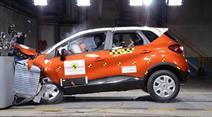 Renault erzielt Bestwert beim Euro NCAP-Crashtest.