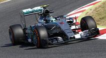 Nico Rosberg in Spanien.