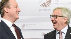David Cameron und Jean-Claude Juncker. (Archivbild)