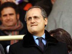 Claudio Lotito, Präsident von Lazio Rom.