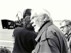 Sven Nykvist arbeitete mit vielen bekannten Regisseuren zusammen, wie hier mit Woody Allen.