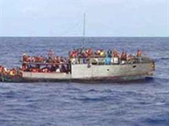 Das Boot sei zwei Wochen lang manövrierunfähig im Atlantik getrieben. (Archivbild)