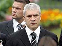 Spitzenpolitiker tagten bei Boris Tadic: Keine Verhandlungen.