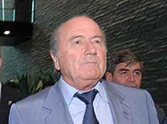 FIFA-Boss Joseph Blatter nahm heute die Bewerbungsunterlagen entgegen. (Archivbild)