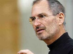 Ausblich unter den Erwartungen: Steve Jobs.