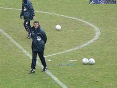 Andy Eglis freude bei Waldhof Mannheim.
