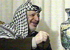 Palästinenser-Führer Arafat.