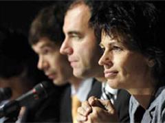CVP-Präsident Christoph Darbellay und Bundesrätin Doris Leuthard.