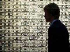 Warhols Siebdruck «200 One Dollar Bills».