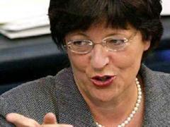 Gesundheitsministerin Ulla Schmidt. (Archivbild)