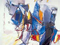 Ohne Titel, 1987, Dea Murk.