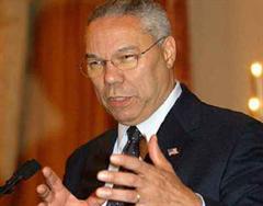 Colin Powell, US-Aussenminister, will Nordkorea Sicherheitsgarantien anbieten.