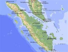 Das Epzentrum lag im nördlichen Teil Sumatras.
