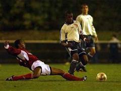 Badens Monteiro Alexandre gegen Sions Kikunda Busala.