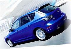 Aktuelles Modell: Mazda Axela.