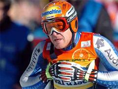 Didier Cuche verpasste den ersten Platz nur knapp. (Archivbild)