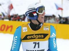 Andreas Küttel sprang heute auf den dritten Platz. (Archivbild)
