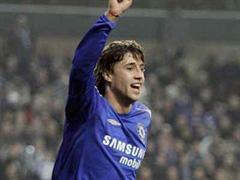 Chelseas Hernan Crespo gelang das entscheidende 3:2. (Archivbild)