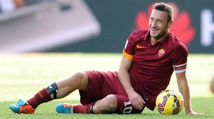 Francesco Totti ist äusserst beliebt.