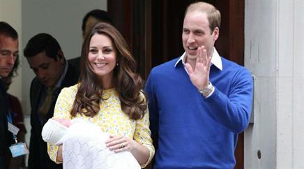 Prinz William und Catherine haben fünf Taufpaten für ihre süsse Tochter ausgewählt.