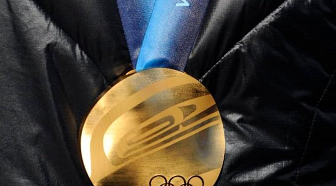 Füntes Gold für Kanada in Vancouver. (Symbolbild)