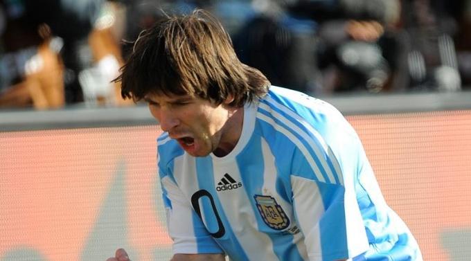 Tor kurz vor Schluss: Lionel Messi.