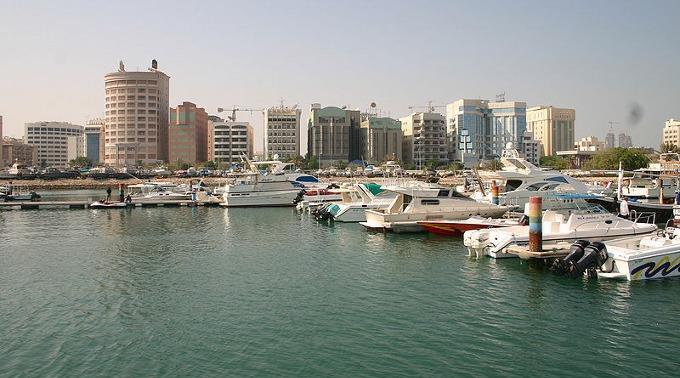 Manama in Bahrain.