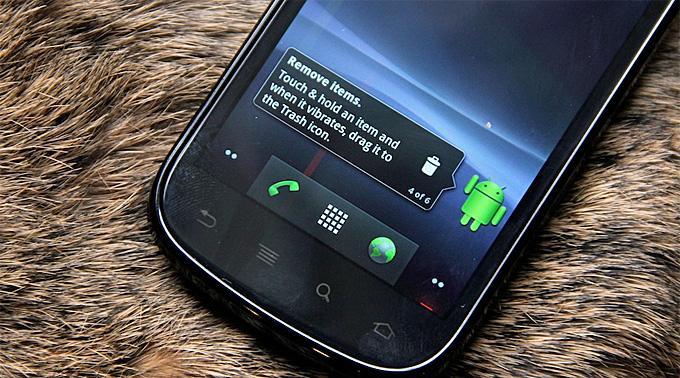 Google Nexus S mit Android 2.3.