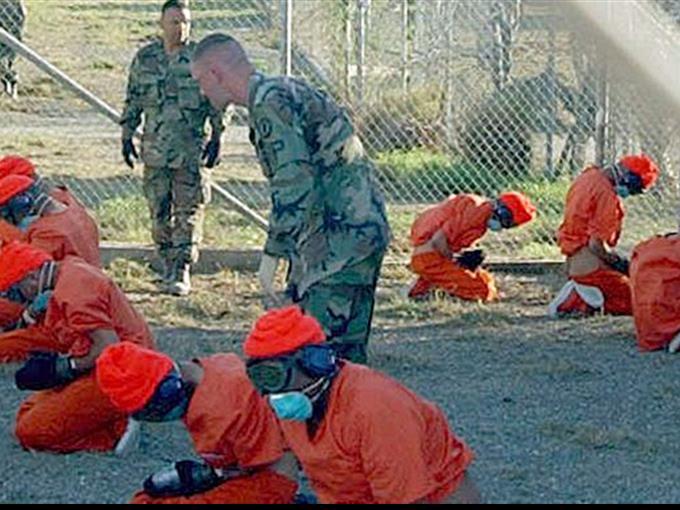 Gefangenenlager in Guantanamo.