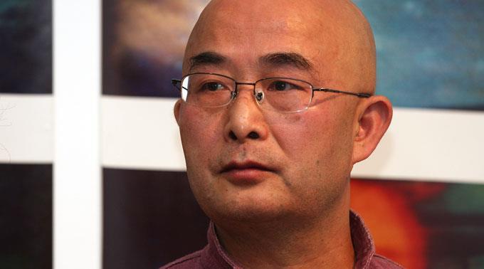 Nobelpreisträger Liao Yiwu bekam in Leukerbad viel Aufmerksamkeit.