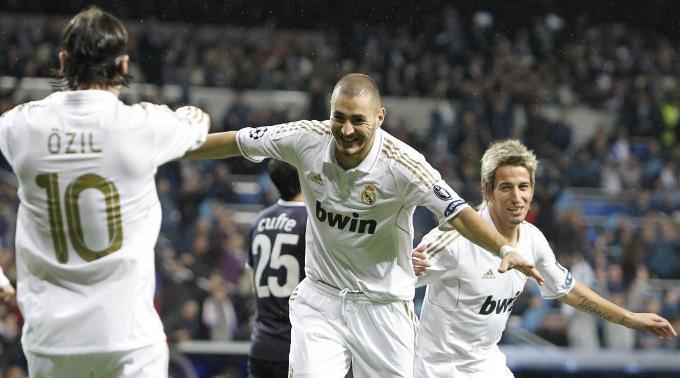 Real Madrid feiert Schützenfest.