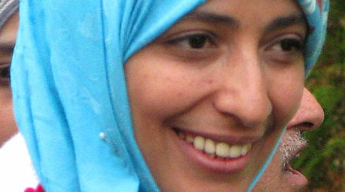 Tawakkul Karman aus dem arabischen Jemen durfte den Nobelpreis entgegennehmen.