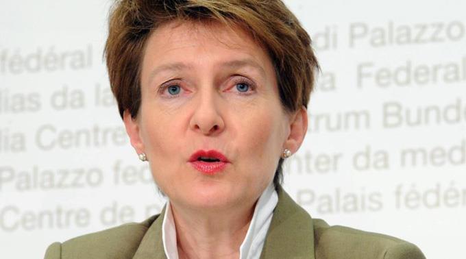 Bundesrätin Simonetta Sommaruga.