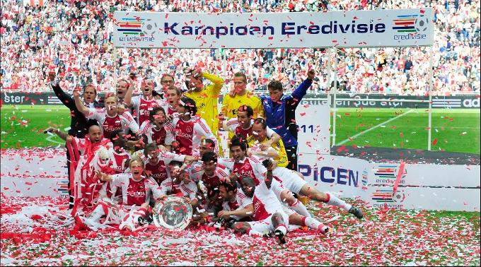 Hollands Meister: Ajax Amsterdam.