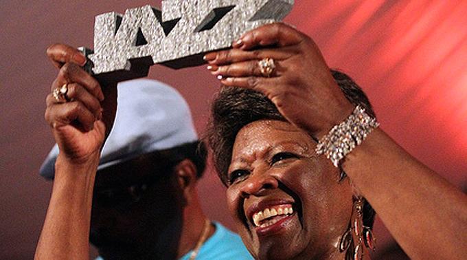 Irma Thomas, ausgezeichnet mit dem Ascona Jazz Award 2012.