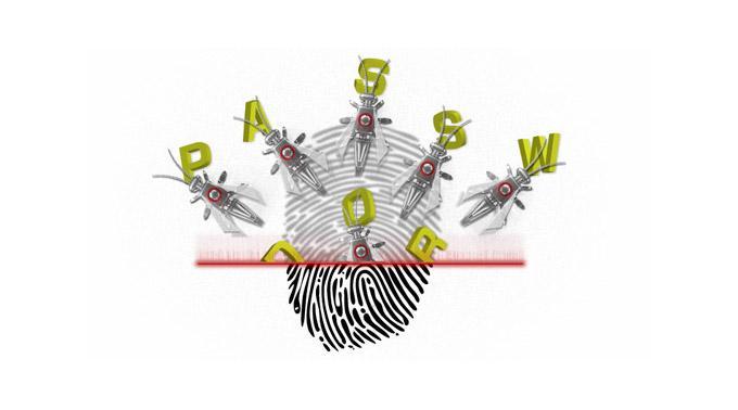 Fingerabdruck als Passwort: bei Notebooks oft unsicher.