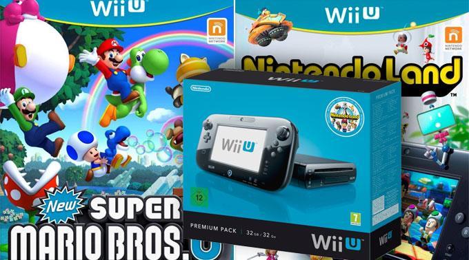 «Nintendo Land» und «New Super Mario Bros U».