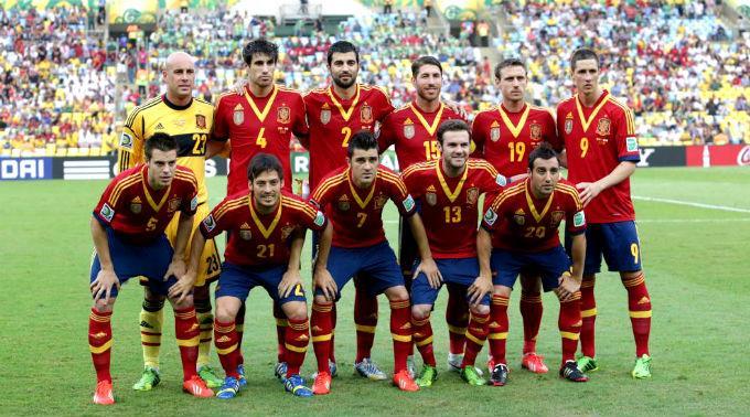 Mannschaft Spanien