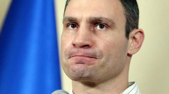 «Dr. Eisenfaust»: Vitali Klitschko.