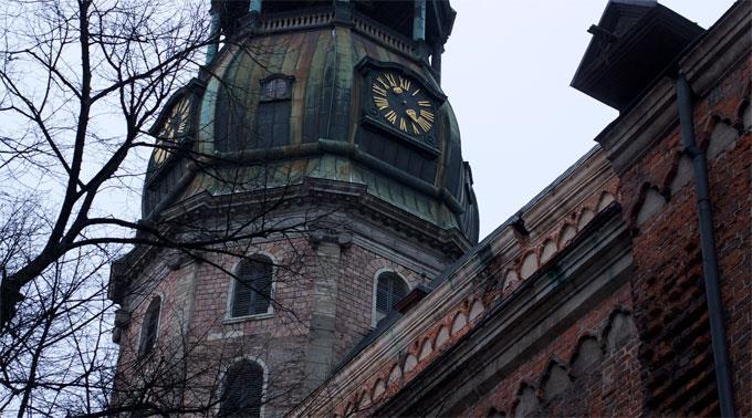 Riga in Lettland.