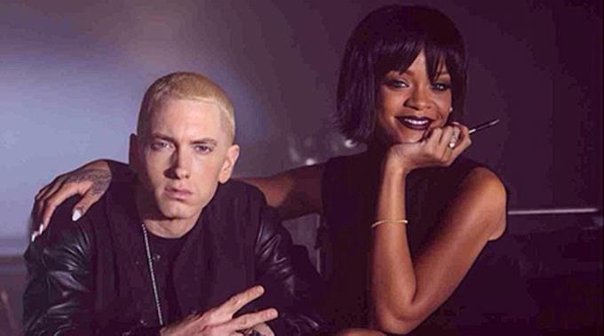 Eminem und Rihanna.