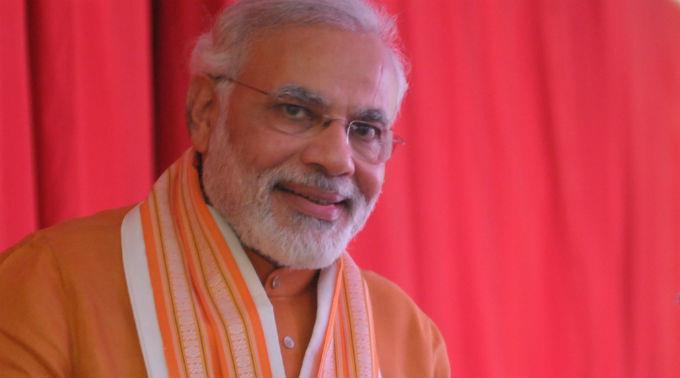 Regierungschef Modi gilt als treuer Yogi.
