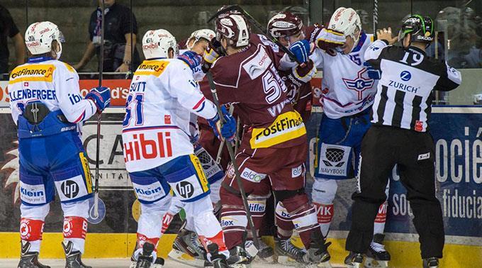 Die Flyers feierten den elften Sieg in den letzten 14 Duellen gegen Servette.