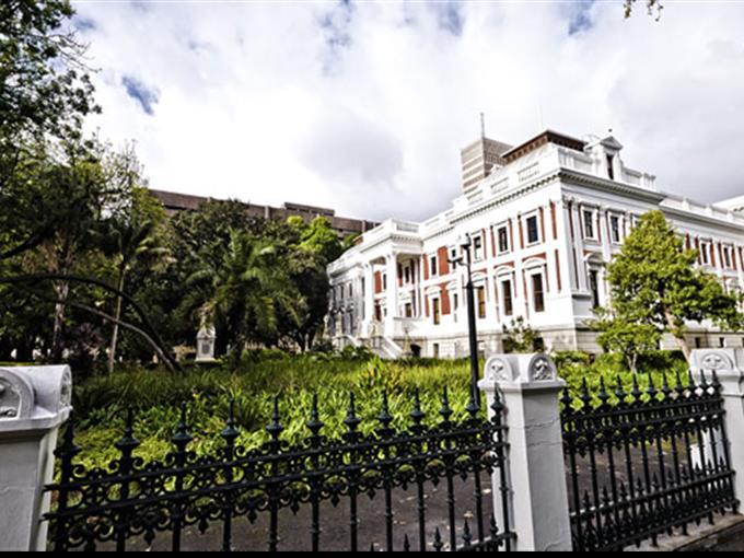 Parlament in Kapstadt. (Archivbild)