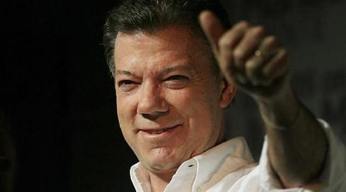 Präsident Juan Manuel Santos: «Wir müssen uns versöhnen.»
