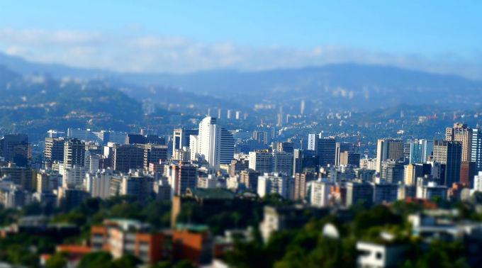 In Caracas ist man alles andere als sicher.