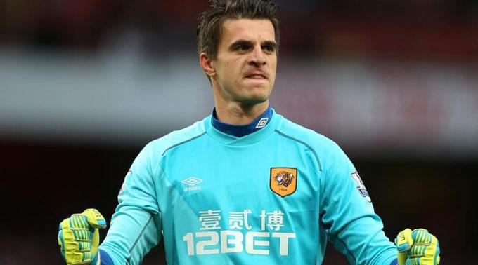 Seit 2012 ist Jakupovic bei Hull City unter Vertrag. (Archivbild)